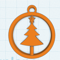 c tree.png Download STL file Rotatable crhistmas tree ornament • 3D printer object, abaialex2244