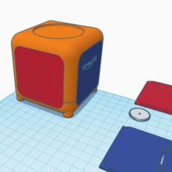 disney1.png Télécharger fichier STL Haut-parleur de livre audio Disney • Modèle à imprimer en 3D, abaialex2244