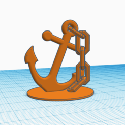 anchor.png Download STL file Anchor for fishtank • 3D print template, abaialex2244