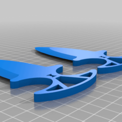 sha.png Download STL file CS:GO Shadow Deggers Knife • 3D printer design, abaialex2244