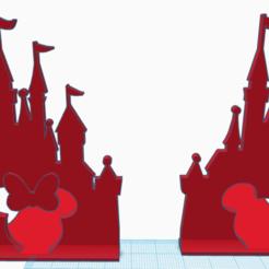 dbh3.png Télécharger fichier STL Porte-livre Disney (souris Mickey et Minnie) • Design imprimable en 3D, abaialex2244