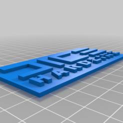 hardline_key.png Download free STL file Dice Hardline keychain • 3D printable design, abaialex2244