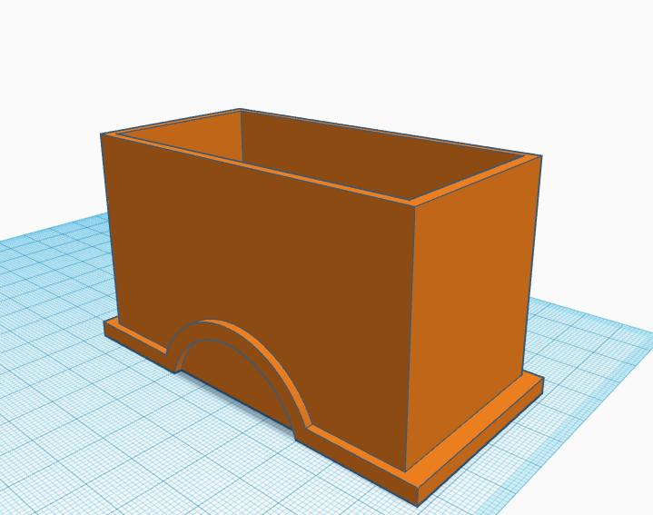 2x1 box1.png Télécharger fichier STL 2x1 boîte Lego • Objet pour imprimante 3D, abaialex2244