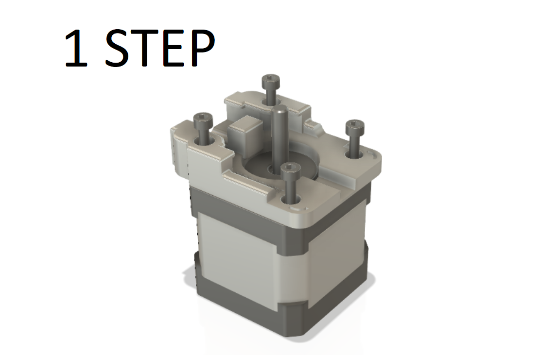1STEP.png Télécharger fichier STL Facextruder • Objet pour imprimante 3D, Print3d86