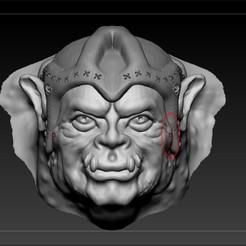 orc4.jpg Download OBJ file Orc • 3D printing template, pdelacruz74