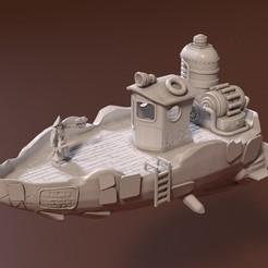 1.jpg Download STL file Starship • 3D printer design, pdelacruz74