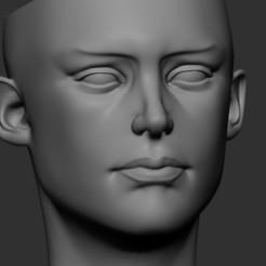 01.jpg Télécharger fichier STL Pot de fleurs - HeadGirl 3 • Objet pour imprimante 3D, dangush90