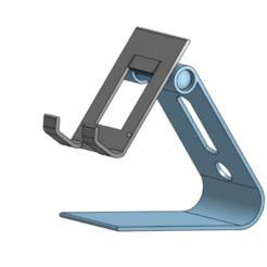 Immagine.png Télécharger fichier STL gratuit Détenteur d'un téléphone (uniquement pour le plaisir) • Objet imprimable en 3D, adegard