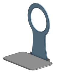 Immagine.png Télécharger fichier STL gratuit Support mural pour chargeur de téléphone portable • Plan pour imprimante 3D, adegard