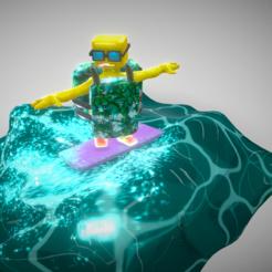 Screenshot (36).png Télécharger fichier OBJ Bob The Boy Turtle Modèle 3D à basse altitude • Objet imprimable en 3D, purimitlasteve