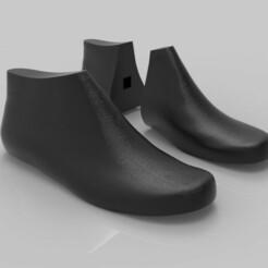 untitled.7980.jpg Download STL file Last for men's boots • 3D printing template, Vidda001
