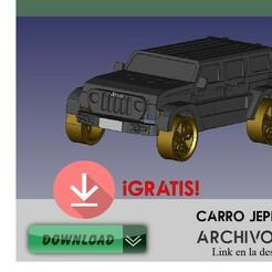 JEpp pubici.jpg Télécharger fichier STL Voiture Jeep • Modèle imprimable en 3D, DennisMor