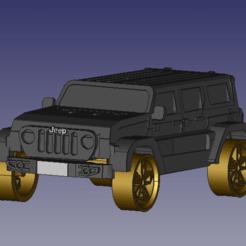 jeep 1.png Download STL file Jeep car • 3D print template, DennisMor