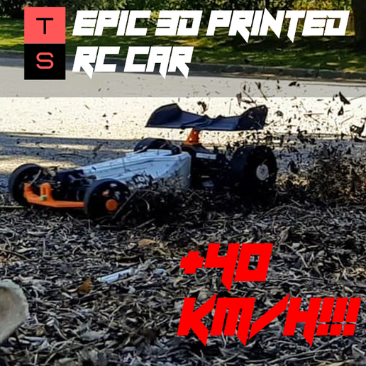 Download OBJ file EPIC 3D Printed RC Race Car • 3D print model, tacosportsracing