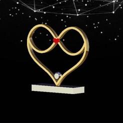 InfiniteLove.jpg Télécharger fichier STL L'amour infini • Design pour impression 3D, bandit_hilmi