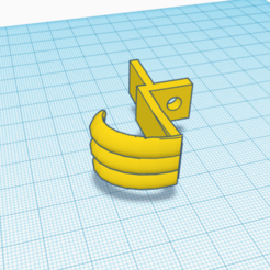 Light Hook.png Download STL file Light Hook/ Clip. • Template to 3D print, rosserbarnett