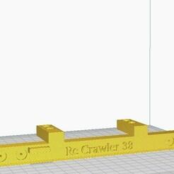 Pare choc arrière.jpg Download free STL file Rear bumper Zil 157 • 3D printer model, gabriella10