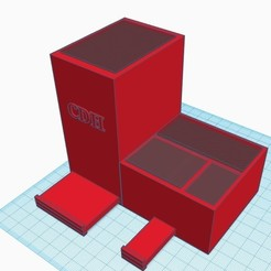 lapicero 1.jpg Télécharger fichier STL stylo organisateur avec support pour téléphone et pot de fleurs • Plan pour imprimante 3D, Aliuropodalada