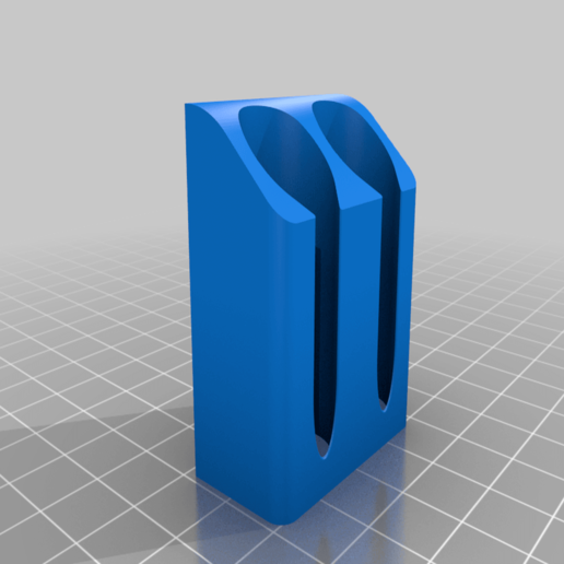 IPAHolder_Double_v1.png Télécharger fichier STL gratuit IPA/support de flacon pulvérisateur de solvant pour l'extrusion V-Slot 2020 • Design à imprimer en 3D, Daeraxa