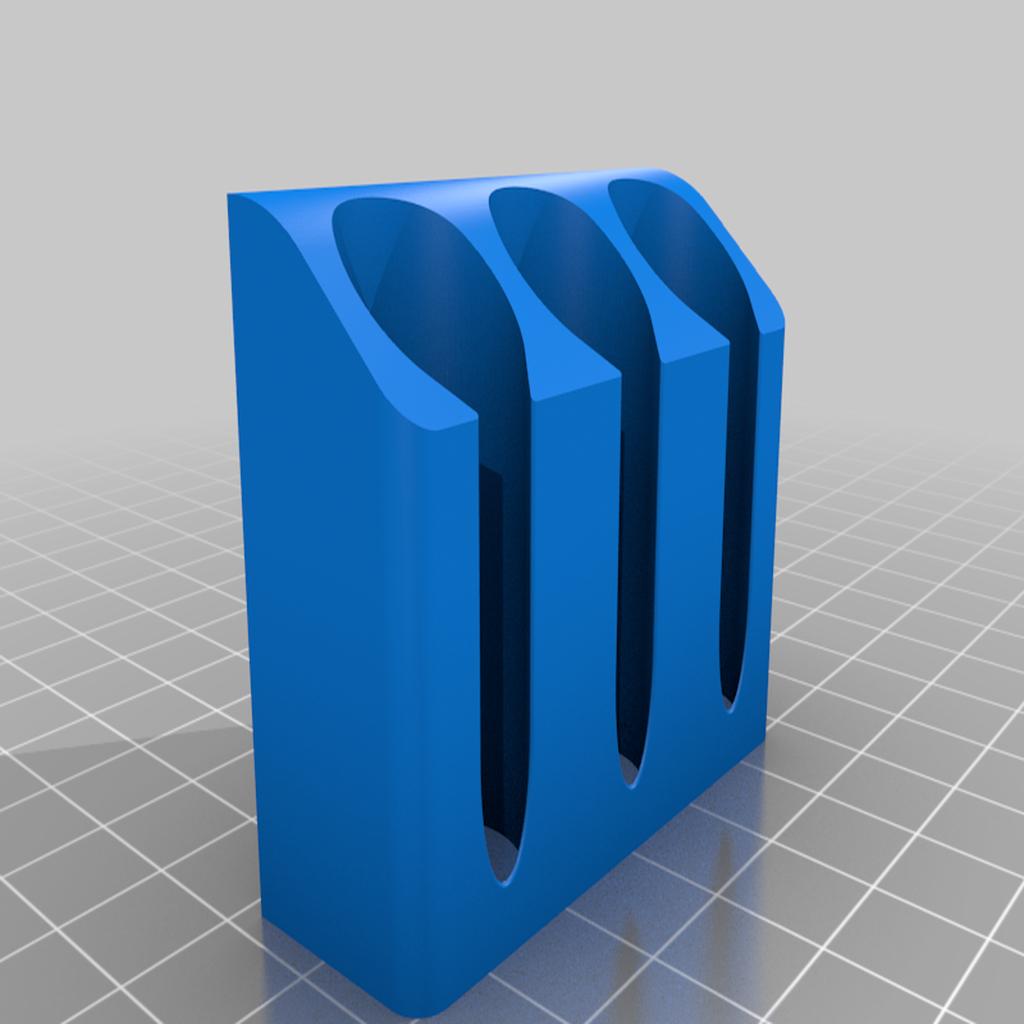 IPAHolder_Triple_v1.png Télécharger fichier STL gratuit IPA/support de flacon pulvérisateur de solvant pour l'extrusion V-Slot 2020 • Design à imprimer en 3D, Daeraxa