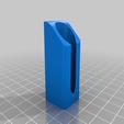 IPAHolder_Single_v1.png Télécharger fichier STL gratuit IPA/support de flacon pulvérisateur de solvant pour l'extrusion V-Slot 2020 • Design à imprimer en 3D, Daeraxa