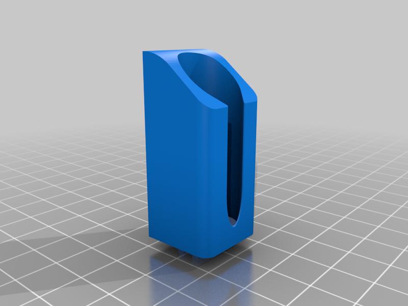 IPAHolder_Single_BMount_v1.png Télécharger fichier STL gratuit IPA/support de flacon pulvérisateur de solvant pour l'extrusion V-Slot 2020 • Design à imprimer en 3D, Daeraxa