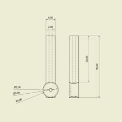 Annotation 2020-09-07 160716.png Download OBJ file Two Point motor component  • Model to 3D print, danielhenriksen8432