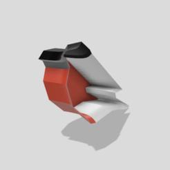 Bullfinch 1.png Download STL file Bullfinch bowl • 3D printing design, robertastrom
