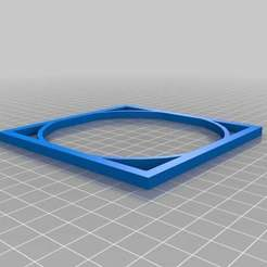 10x10x.5Doubled.jpg Download free SCAD file Square and Circle • 3D print template, Iplayfast