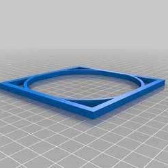 10x10x.5Doubled.jpg Télécharger fichier SCAD gratuit Carré et cercle • Plan à imprimer en 3D, Iplayfast