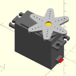 Télécharger fichier SCAD gratuit ServoDummyMG995 • Design imprimable en 3D, Iplayfast