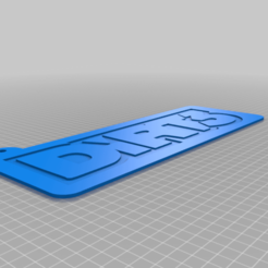 dirt3_v2.png Download free GCODE file dirt 3 • 3D printable object, ray46