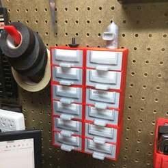 IMG_20170723_144152.jpg Télécharger fichier STL gratuit Poubelle à 2 tiroirs en carton • Modèle à imprimer en 3D, nerdalert3d