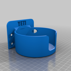 Pegbrd_Yeti_mug.png Download free STL file Yeti coffee mug pegboard holder • 3D printable object, nerdalert3d