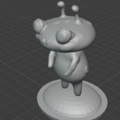 tudtop.PNG Download free STL file Tud the Ooblet • Object to 3D print, resinpeasant