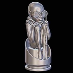 front.png Download STL file Birth Machine - H.R. Giger • 3D printer template, XiQils