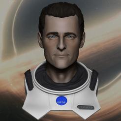 Download free STL file Cooper Interstellar • 3D printer model, Stellutti