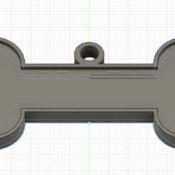 perro1.png Download STL file v2 editable dog plate • 3D printable object, felipevasquezgamboa