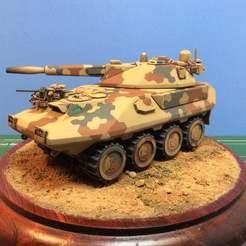 IMG_0848.JPG Download free STL file A.M.V.P. Mk.II (Armored Multiple Vehicle Platform). • Template to 3D print, ModelBuilderBen