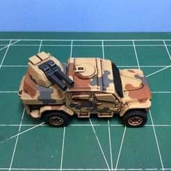 IMG_2093.JPG Télécharger fichier STL gratuit Tourelle de canon pour le camion jouet Matchbox MXT. • Design imprimable en 3D, ModelBuilderBen