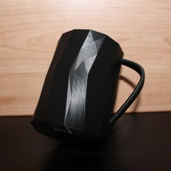 IMG_8726.JPG Download free STL file ORIGAMI TEA/COFFEE CUP // TAZA ORIGAMI • Object to 3D print, Chechy
