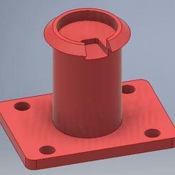 Supportgpsgivi_z1000sx.JPG Download STL file GPS adapter for GIVI bracket • 3D printer model, Helko67