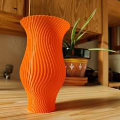 IMG_20200915_173111.jpg Download STL file Makumegane Spiral Vase • 3D printer model, boltythedoge