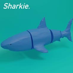 sharkie..png Download STL file Sharkie • 3D printer template, boltythedoge