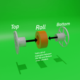 Télécharger fichier STL gratuit Porte-clés des bobines de filament ! • Objet pour imprimante 3D, boltythedoge