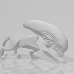 Download free STL file Panthalien • 3D printable design, petrichormarauder