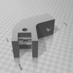 Download free STL file Glasses hinge • 3D printing object, petrichormarauder