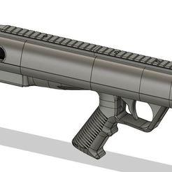 new2.JPG Download STL file Bull-Pup 10/22 Drop in Stock • 3D printer model, kamworks3d
