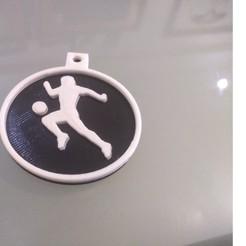 1.jpg Télécharger fichier STL Porte-clés silhouette de Diego Maradona • Objet à imprimer en 3D, robles_nicolas