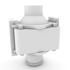 Download STL file Porta filtro para pequeña piscina (o acuario) / Filter holder for small pool (or aquarium). • 3D printer object, ivanj0